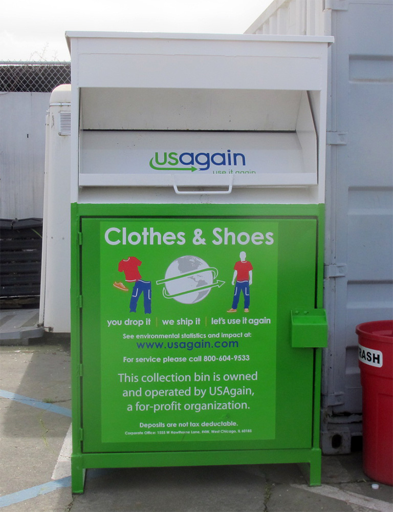Clothing Donation – VALCORE: Vallejo Community Organizations Recycling